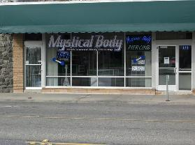 Mystical Body storefront